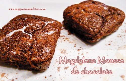 Magadalena mousse de chocolate