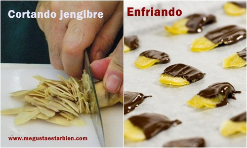 Receta jengibritos chocolate