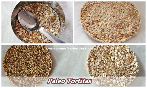 receta tortitas sin gluten sin azucar