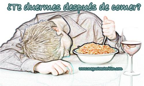 comer y dormir