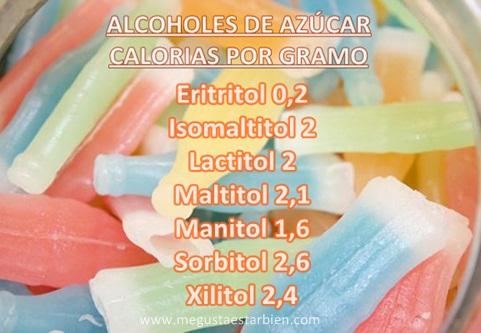 alcoholes de azucar