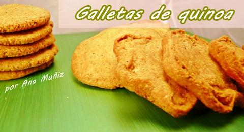 Galletas de quinoa y trigo sarraceno