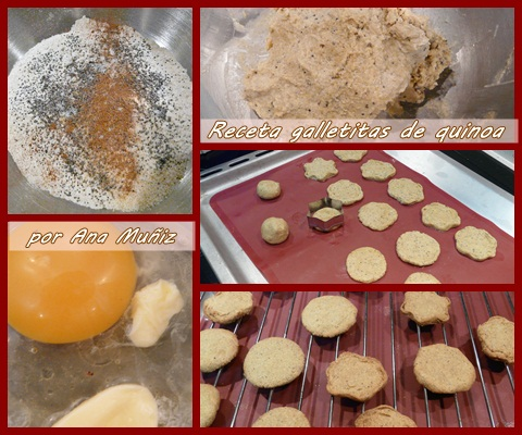 Receta galletitas de quinoa