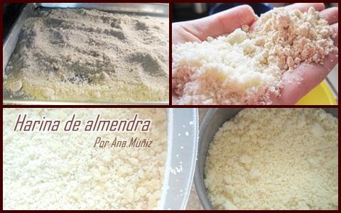 harina de almendra receta