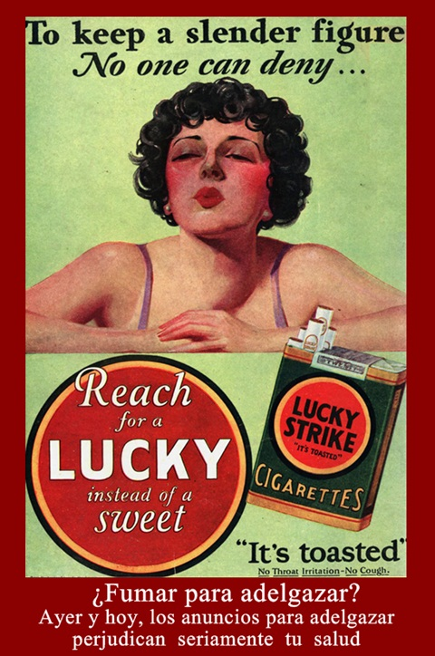 Fumar para adelgazar