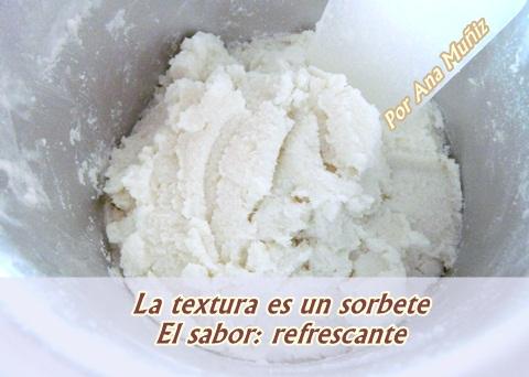 Receta helado leche de coco lima