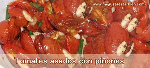 tomates con piñones