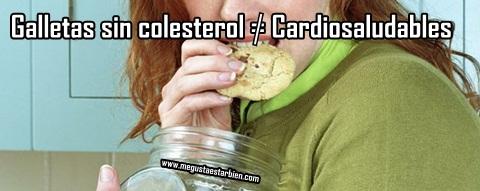 galletas sin colesterol