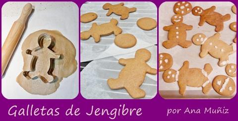 hacer galletas jengibre