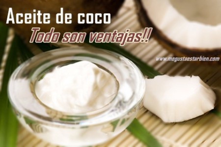 aceite de coco y perdida de peso