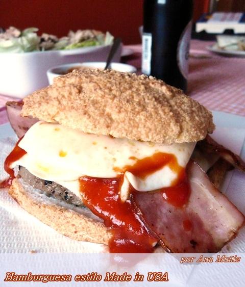hamburguesa estilo made in usa