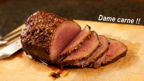dame carne