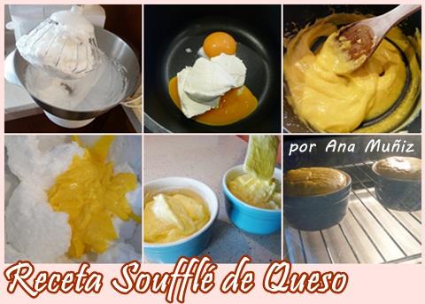 Receta souffle de queso