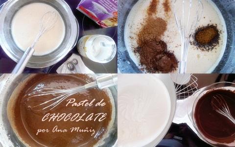 Receta pastel de chocolate