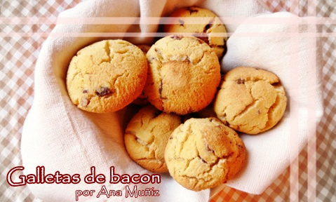 Galletas de panceta bacon
