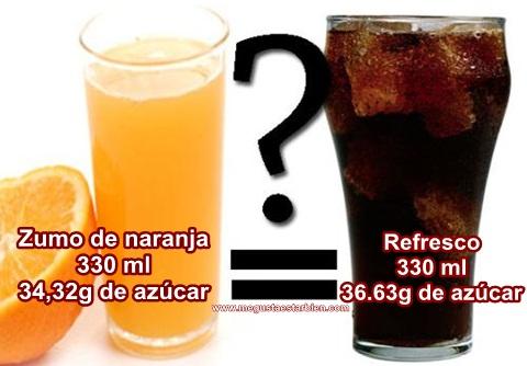 zumos o refrescos