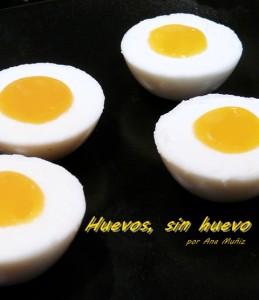 huevos sin huevo, para alergicos