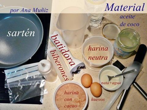 material pancakes