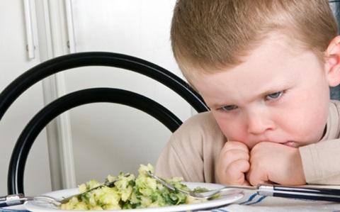 porque los niños no comen verduras