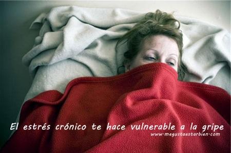 estres gripe