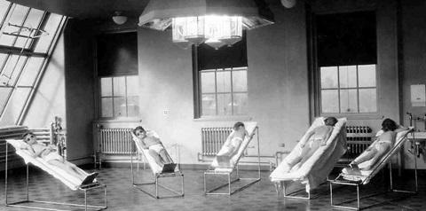 lamparas para polio