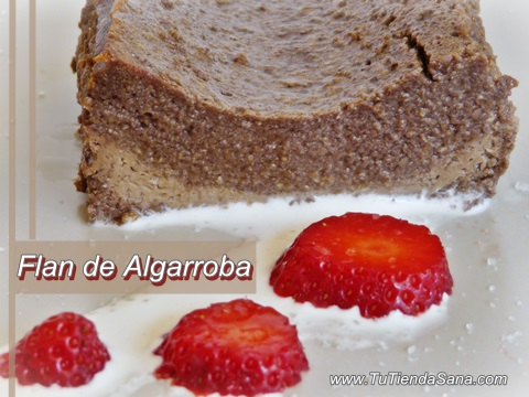 Pudding de algarroba