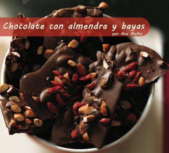 Chocolate con trozos