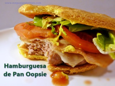 pan oopsie hamburguesa