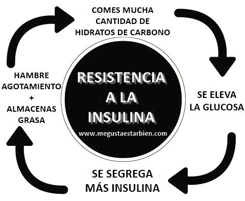 resistencia a la insulina esquema
