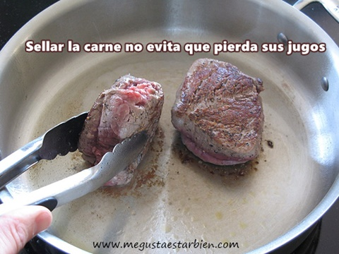 sellar la carne