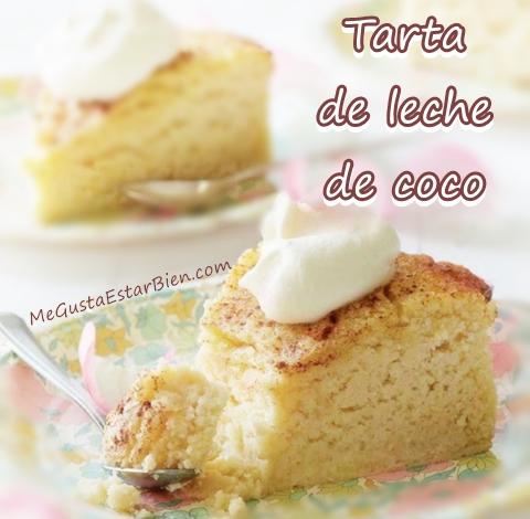 tarta de leche de coco mgeb