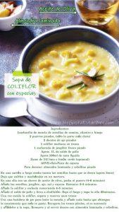 receta keto sopa de coliflor